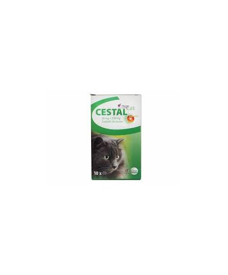 Cestal - Tabletki na odrobaczenie dla kotów.