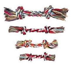 Zabawka sznurowa dla psa. Mieszanka bawełny. Długość 40cm. Różne kolory. TRIXIE.