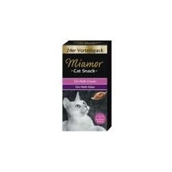 Miamor Cat Snack - pasta dla kota z ekstraktem słodowym, całkowicie bez cukru,  redukują powstawanie kłaczków.