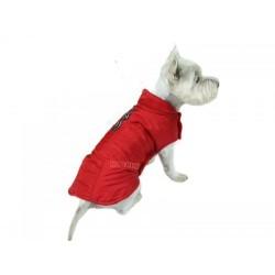 Płaszczyk dla psa. PRODUKT POLSKI. Różne rozmiary. Długość od 31cm do 49cm. Kolor czerwony.