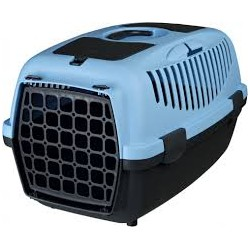 Transporter Capri - z plastiku, z uchwytem. Dla kota, psa, królika i innych zwierząt domowych.