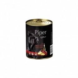 Dolina Noteci PREMIUM PIPER - karma mokra z wątrobą wołową i ziemniakami w puszce 400g. Dla psów wszystkich ras.
