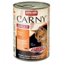 Animonda Carny - karma mokra w puszce dla kotów. 400g. Wołowina z kurczakiem.