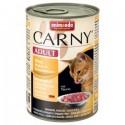 Animonda Carny - karma mokra w puszce dla kotów. 400g. Wołowina z kurczakiem i sercami kaczymi.