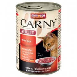 Animonda Carny - karma mokra w puszce dla kotów. 400g. Wołowina.