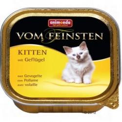 Animonda vom feinsten - karma mokra dla małych kotków. Z drobiem. 100g.