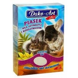 Pył kąpielowy DAKO ART dla szynszyla i koszatniczek. 1,5kg.