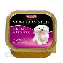 Animonda Vom Feinsten- tacka dla psa dorosłego z indykiem i jagnięciną. Waga 150g.