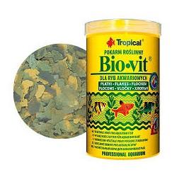 BIOVIT- roślinny podstawowy pokarm w płatkach. Dla ryb. 250ml.