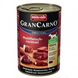 Animonda Grancarno-mokra karma dla psa zawierająca dużo mięsa oraz wysokowartościowych składników. Mix mięs. .