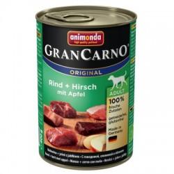 Animonda Grancarno-mokra karma dla psa zawierająca dużo mięsa oraz wysokowartościowych składników. Jeleń+jabłko.