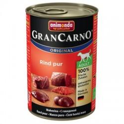 Animonda Grancarno-mokra karma dla psa zawierająca dużo mięsa oraz wysokowartościowych składników. Wołowina.