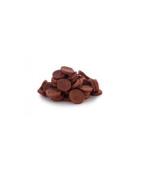 Talarki wołowe- Miękkie mięsne talarki z wołowiny to wspaniała naturalna przekąska.