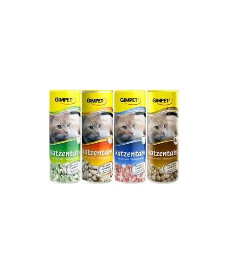 Witaminy dla kota. Mix smaków. Zawierają proteiny, witaminy z grupy B, minerały.