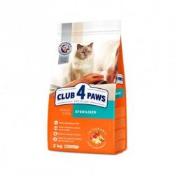CLUB 4 ŁAPY - karma sucha PREMIUM dla kota po zabiegu sterylizacji i kastracji.