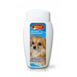 Szampon odżywczo-pielęgnacyjny dla psa zawierający wyciąg ze skrzypu.200ml.