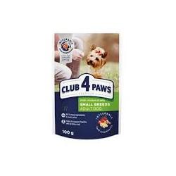 Club 4 łapy - mokra karma dla psa. Kurczak w galaretce. 100g.