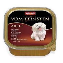 Animonda Vom Feinsten- tacka dla psa dorosłego z królikiem. Waga 150g.