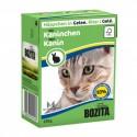 BOZITA karma mokra dla kota z królikiem w galaretce. 370g. Pakowana w kartonik.  92% mięsa.