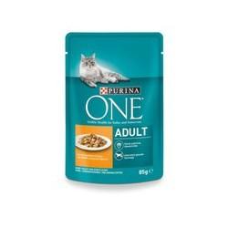 Saszetka dla kota PURINA ONE  - mokra karma dla kota skomponowana przy współpracy weterynarzy i dietetyków. 85g