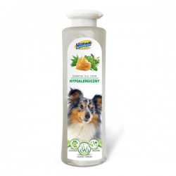 Szampon hypoalergiczny dla psa HILTON . 200ml. PH neutralne. Zagęszczony.