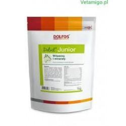 Dolfos - Dolvit junior - Witaminowo-mineralny preparat w proszku dla szczeniąt i młodych psów.  1kg.