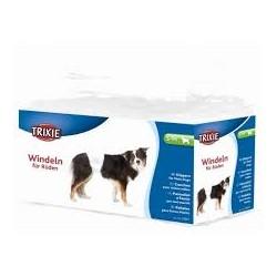 Pieluchy dla psów. Dla zwierząt nietrzymających moczu, zwierząt po operacji i podczas podróży.
