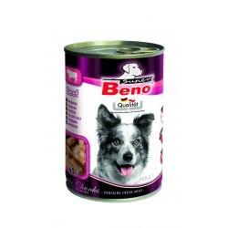 BENEK - mokra karma dla psa 415g. Super beno kawałki w sosie z wołowiną.