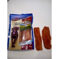 Trixie- filety z kurczaka, przepyszny smakołyk dla twojego pieska. Karma uzupełniająca bogata w mięso.