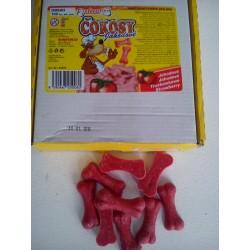 Czekoladki dla psa COCOSY truskawkowe. Smaczna przekąska dla twojego pieska.