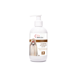Szampon OVER ZOO  dla SHIH TZU - Delikatny szampon dla psów z proteinami wełny kaszmirskiej.