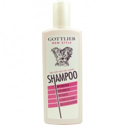 Szampon GOTTLIEB - Łagodny szampon z dodatkiem olejku norkowego przeznaczony do kąpieli szczeniaków.