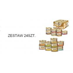 Gourmet Gold puszeczka dla kota 85g w kawałkach w sosie - mokra karma . ZESTAW 24szt.