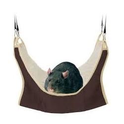 Hamak dla szczura, szynszyla bądź fretki. Rozmiar 45*45cm. Można zawiesić w klatce.