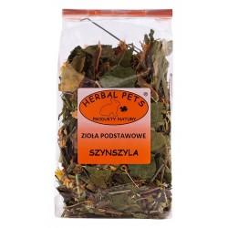 Szynszyla zioła podstawowe HERBAL PETS 100g. Pyszna, zdrowa i naturalna przekąska.
