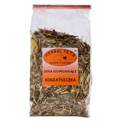 Koszatniczka zioła uzupełniające HERBAL PETS 100g. Pyszna, zdrowa i naturalna przekąska.